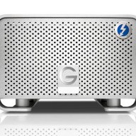 Front of the G-RAID with Thunderbolt