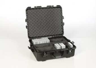 Turtle Waterproof LTO/DLT/3592 Tape Storage Case