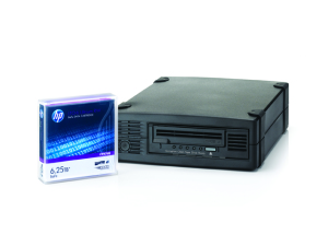 HP LTO 6  External Dive and HP LTO 6 Tape